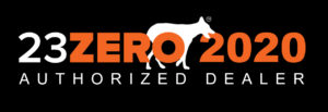 23 Zero Authorized Dealer Logo